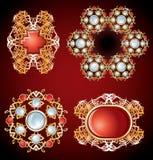 Décorations de bijou Image libre de droits