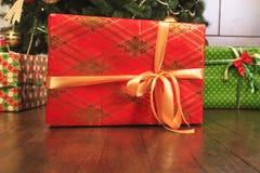 Décorations de célébration de nouvelle année de Noël Images stock