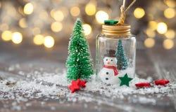 Décorations de fête de Noël Images stock
