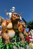 Décorations de flotteur de carnaval Photo libre de droits