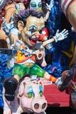 Décorations de flotteur de carnaval Photo stock