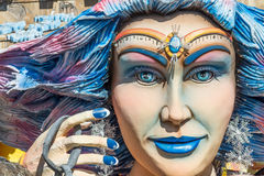 Décorations de flotteur de carnaval Image stock