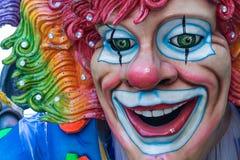 Décorations de flotteur de carnaval Photographie stock libre de droits