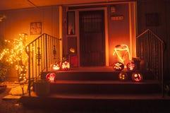 Décorations de Halloween images libres de droits