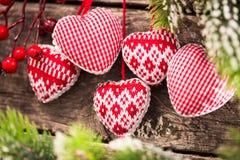 Décorations de jour du ` s de Valentine Photos stock