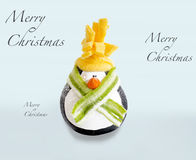 Décorations de Joyeux Noël Photos libres de droits