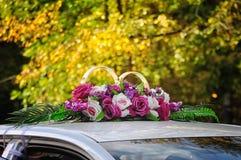 Décorations de mariage Image libre de droits