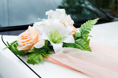 Décorations de mariage Photo libre de droits