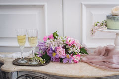 Décorations de mariage Image stock