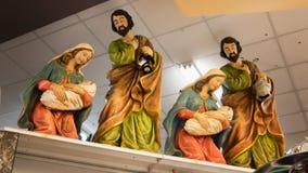 Décorations de nativité de vacances de Noël Image stock