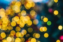 Décorations de Noël à Moscou photos libres de droits