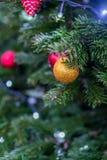 Décorations de Noël à Moscou en décembre photos stock