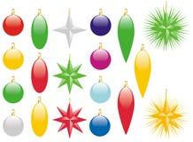 Décorations de Noël Illustration Libre de Droits