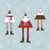 Décorations de Noël illustration stock