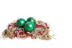 Décorations de Noël Photographie stock