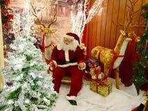 Décorations de Noël Photo libre de droits