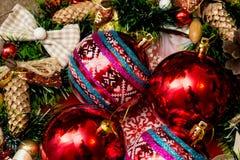 Décorations a de Noël Photos libres de droits