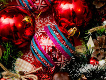 Décorations a de Noël Photo stock