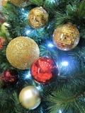 Décorations de Noël-Arbre Photos stock