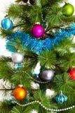 décorations de Noël-arbre 2016 bonnes années Photo stock