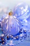 Décorations de Noël dans la lampe au néon Images stock
