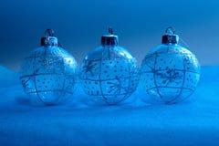 Décorations de Noël dans la lampe au néon Photographie stock libre de droits