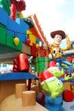 Décorations de Noël de Toy Story à Hong Kong Image stock