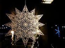 Décorations de Noël en Finlande photo libre de droits