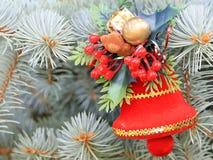 Décorations de Noël en prévision de l'événement Images stock