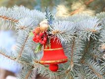 Décorations de Noël en prévision de l'événement Photos stock