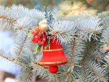 Décorations de Noël en prévision de l'événement Images libres de droits