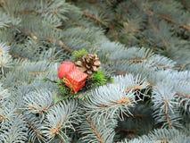 Décorations de Noël en prévision de l'événement Photo libre de droits