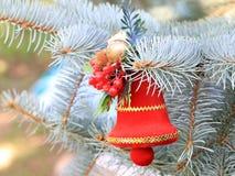 Décorations de Noël en prévision de l'événement Photographie stock libre de droits