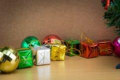 Décorations de Noël et d'an neuf Photo stock
