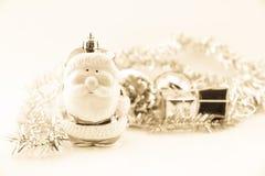 Décorations de Noël et d'an neuf Image stock