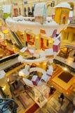 Décorations de Noël la nouvelle année juste dans la GOMME à Moscou Images stock