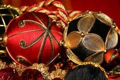 Décorations de Noël luxueuses Photo stock