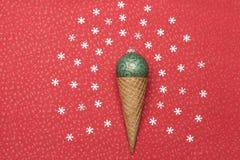 Décorations de Noël ou de nouvelle année Image libre de droits