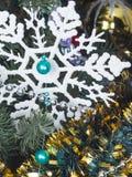 Décorations de Noël pour l'arbre de Noël images libres de droits