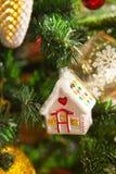 Décorations de Noël, qui imite les vieux jours Images libres de droits