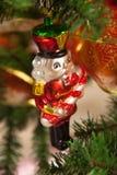 Décorations de Noël, qui imite les vieux jours Images stock
