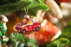 Décorations de Noël, qui imite les vieux jours Image libre de droits