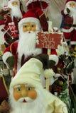 Décorations de Noël - Santa Claus Photos libres de droits