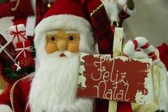 Décorations de Noël - Santa Claus Image stock