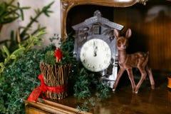 Décorations de nouvelle année Photographie stock