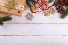 Décorations de nouvelle année de Noël photos libres de droits