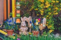 Décorations de Pâques à Potsdam Image libre de droits