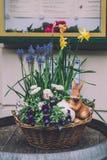 Décorations de Pâques à Potsdam Images stock