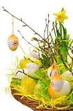 Décorations de Pâques Photos stock
