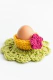 Décorations de Pâques de crochet photos stock